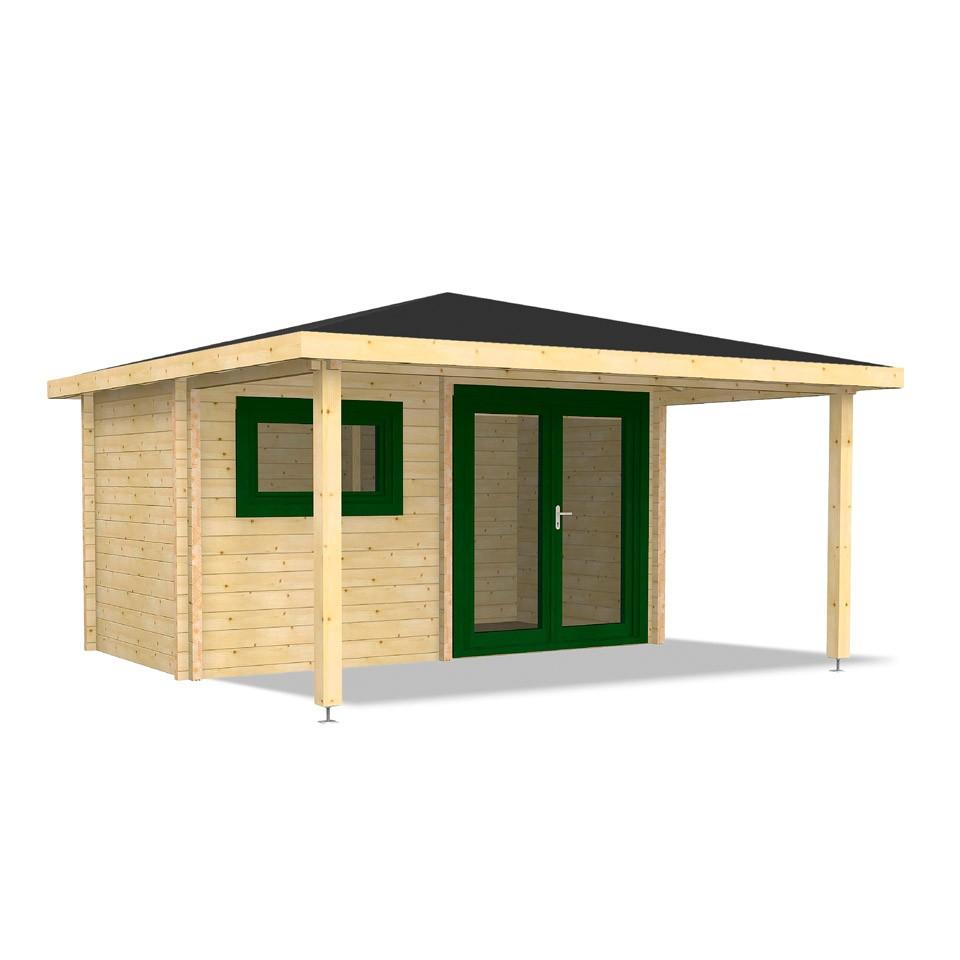 infraworld gartensauna bella 2 infraworld onlineshop. Black Bedroom Furniture Sets. Home Design Ideas