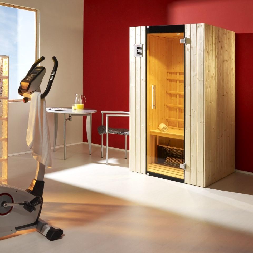 weka infrarot kabine tanilla gr 1 inkl linienstrahler mein. Black Bedroom Furniture Sets. Home Design Ideas