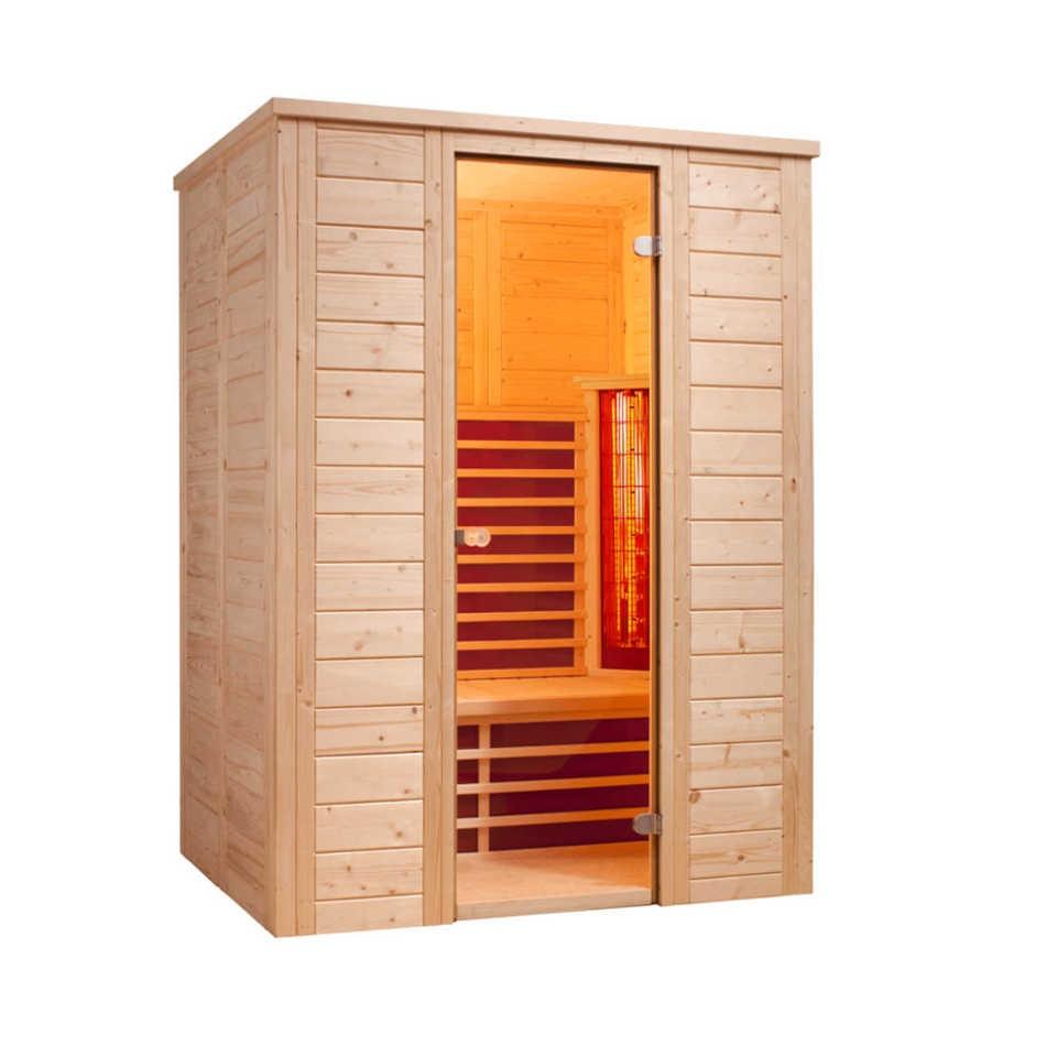 infraworld infrarotkabine triosol natura 148 mein. Black Bedroom Furniture Sets. Home Design Ideas