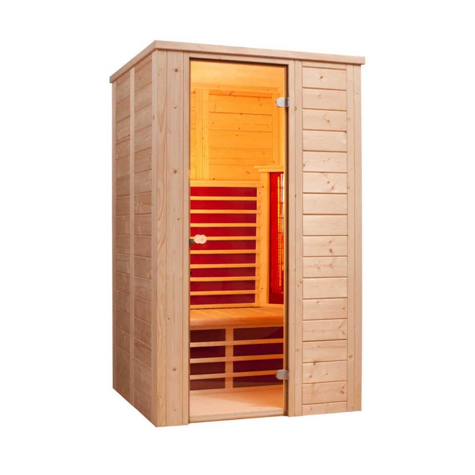 infraworld infrarotkabine triosol natura 120 mein. Black Bedroom Furniture Sets. Home Design Ideas