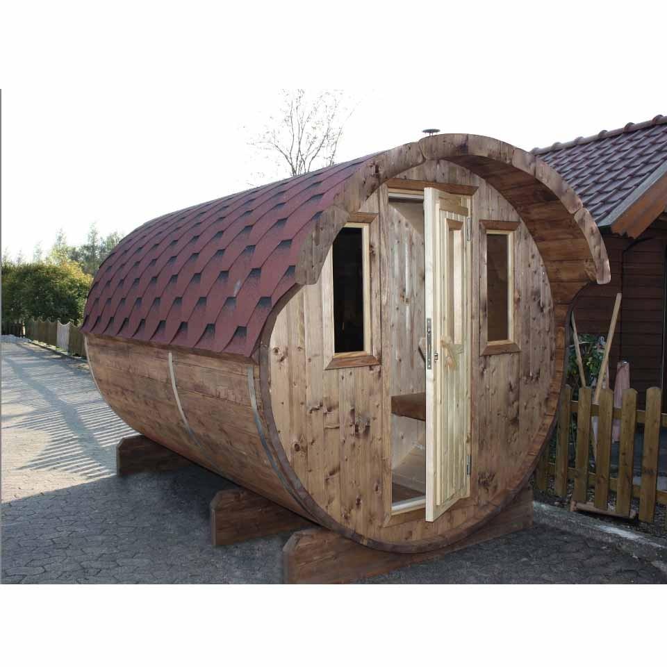 wolff finnhaus saunafass fasssauna 220 wolff finnhaus. Black Bedroom Furniture Sets. Home Design Ideas
