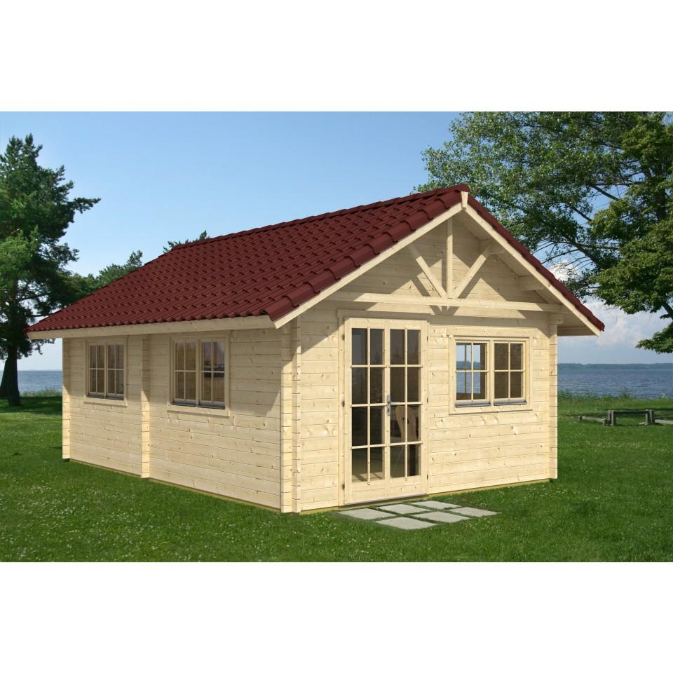 skan holz 45 mm gartenhaus gartenhaus bern 6 mein. Black Bedroom Furniture Sets. Home Design Ideas