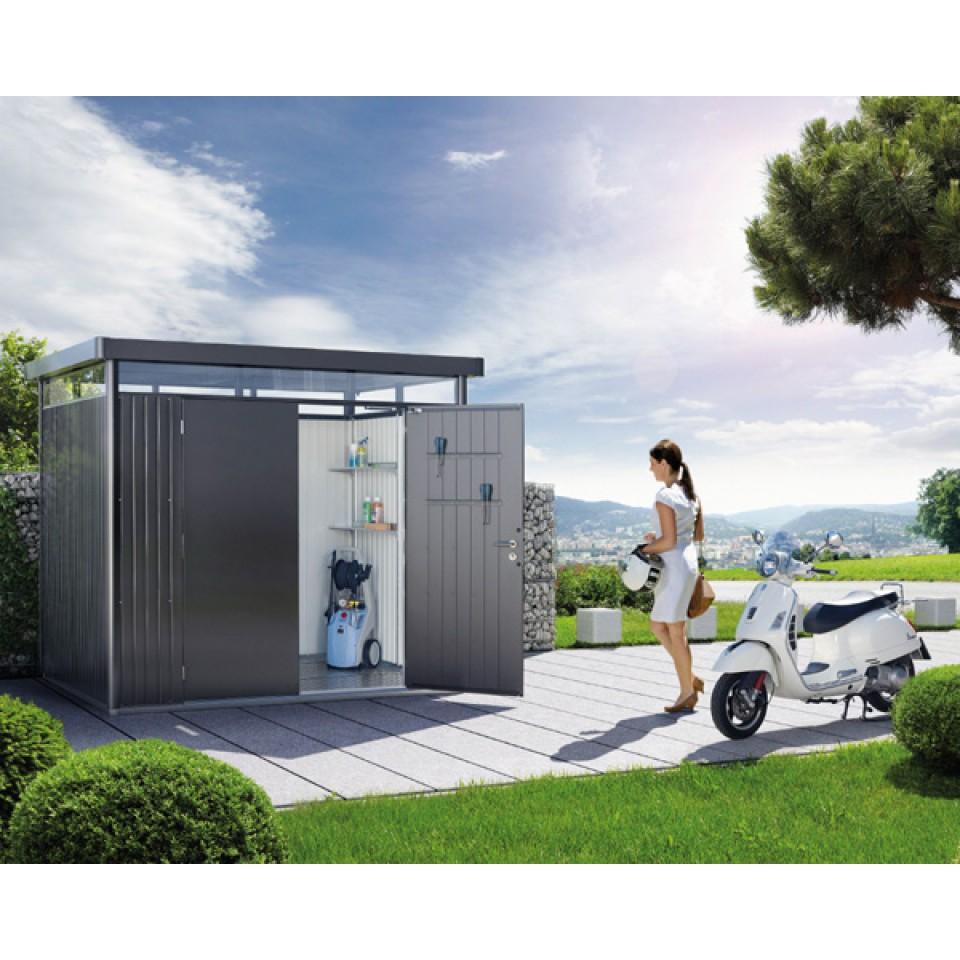biohort highline ger tehaus metall versandfrei mein. Black Bedroom Furniture Sets. Home Design Ideas