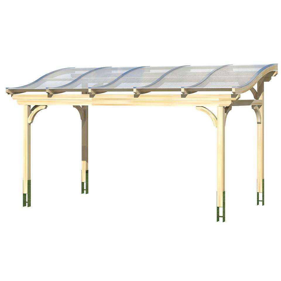 skan holz terrassen berdachung florenz mit geschwungenen. Black Bedroom Furniture Sets. Home Design Ideas