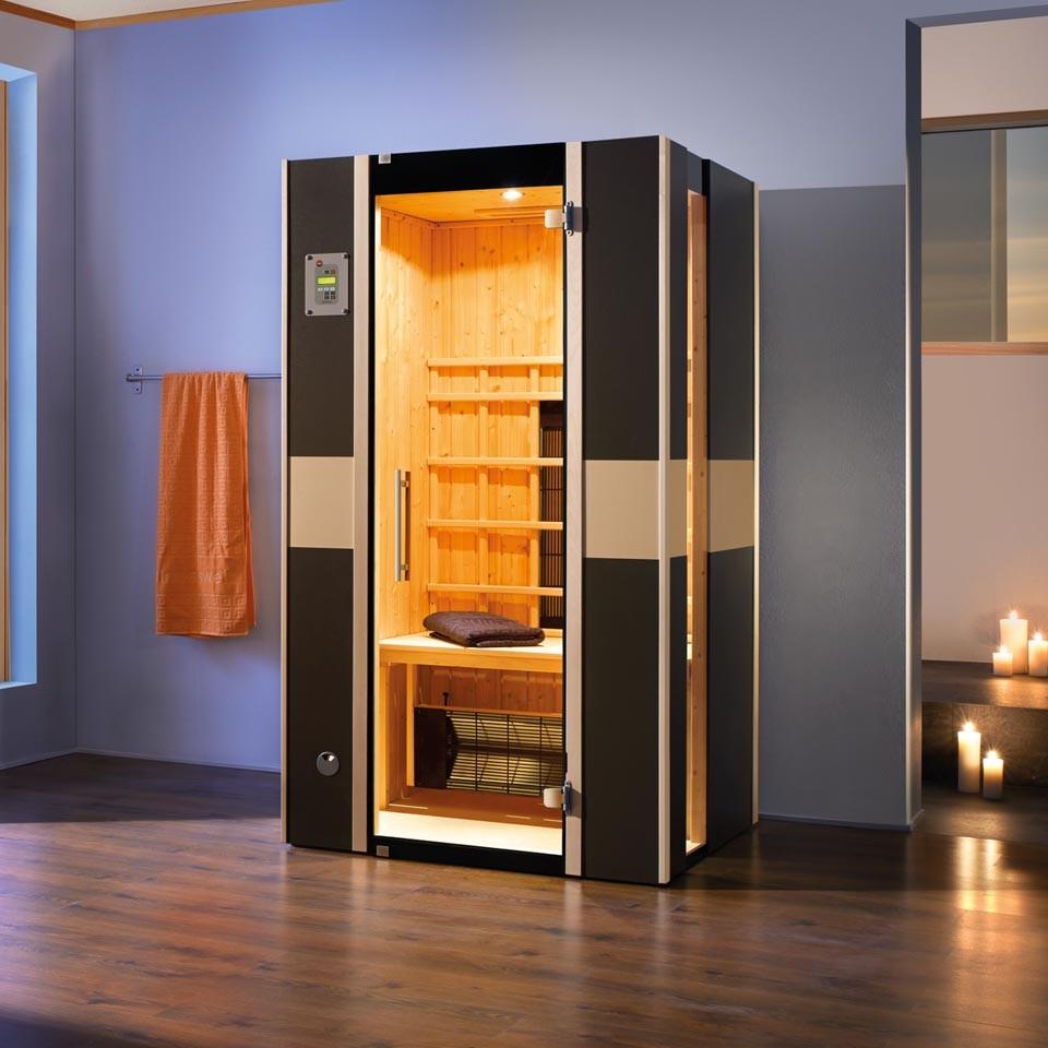 weka infrarot w rmekabine mila gr 1 inkl linienstrahler mein. Black Bedroom Furniture Sets. Home Design Ideas