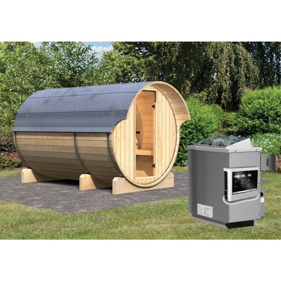 karibu fasssauna 3 42 mm mein. Black Bedroom Furniture Sets. Home Design Ideas