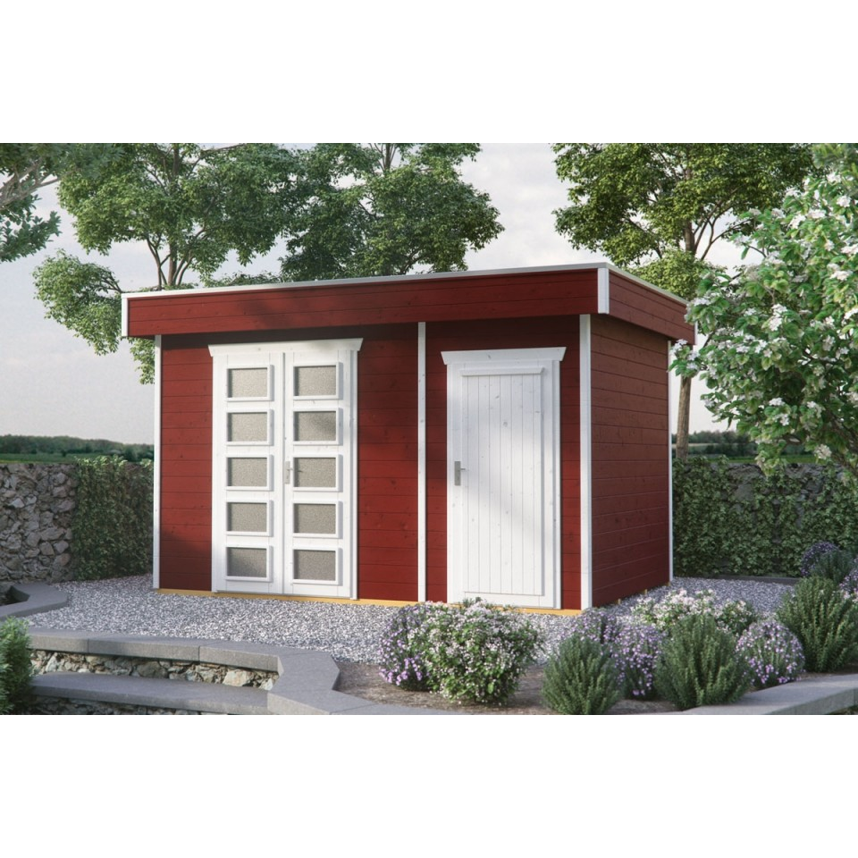 skan holz 28 mm blockbohlenhaus venlo 3 mein. Black Bedroom Furniture Sets. Home Design Ideas