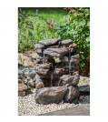 """Heissner Felsbrunnen-Set """"Rock Fountain LED"""""""