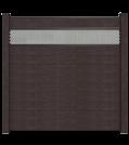 GroJa Solid Stecksystem Bausatz inkl. Lochblech-Designeinsatz 30cm anthrazit