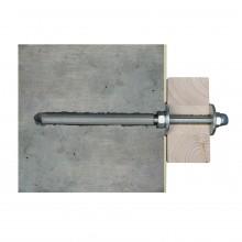 Skan Holz Wandbefestigungsset für Vordächer Größe 2