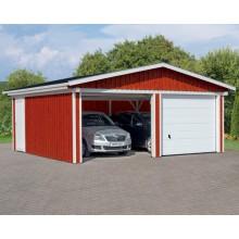 Skan Holz Garage Holzgarage Falun 1 / 2