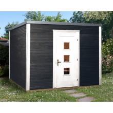Weka Designhaus 413 Flachdachhaus 45 mm