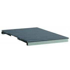 Kettler KETTALUX-PLUS Einlegeplatte 60 cm für Ausziehtisch silber/anthrazit