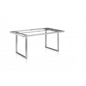 Kettler SKATE-Tischgestell 160 x 95 cm, Edelstahl