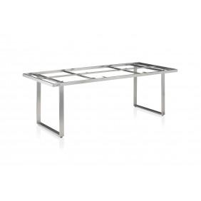 Kettler SKATE Dining-Tischgestell 220 x 95 cm, Edelstahl