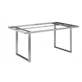 Kettler SKATE Casual Dining-Tischgestell 160 x 95 cm, Edelstahl