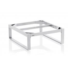 Kettler OCEAN Lounge-Tischgestell 95 x 95 cm, Aluminium - silber