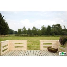 Wolff Finnhaus Terrassen zum nachträglichen Anbau