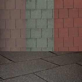 Palmako Rechteck- Dachschindeln - Mix