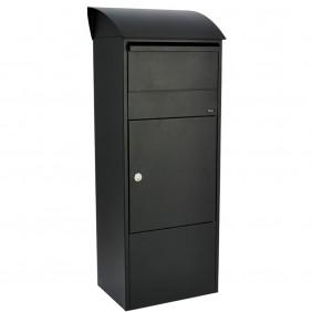 ALLUX 820 Paket-Briefkasten - Schwarz
