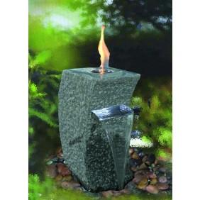 Gardenforma Feuer-Wasserspielset Storm-Grey für Bioethanol