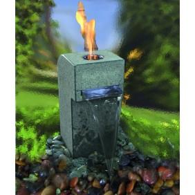 Gardenforma Feuer-Wasserspielset Gibbet Grey für Bioethanol