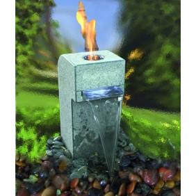 Gardenforma Feuer-Wasserspielset Gibbet Yellow für Bioethanol