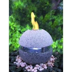 Gardenforma Feuer-Wasserspielset Sphere für Bioethanol
