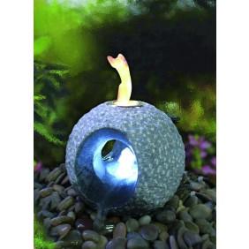Gardenforma Feuer-Wasserspielset Dot für Bioethanol