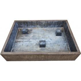 gartenselect Becken für Wasserspiel Buddha Kopf / Khmer