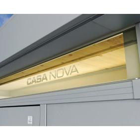 Biohort CasaNova Acrylglas-Lichtband doppelglasig Metall Gartenhaus
