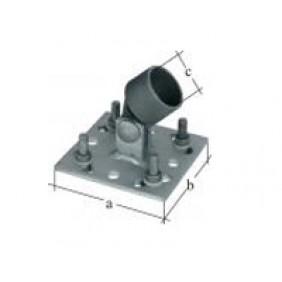 GAH Zaunsystem Fix-Clip Pro Strebenplatte