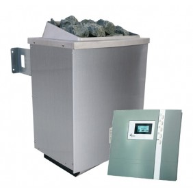 Karibu 9 kW Saunaofen für externe Steuerung