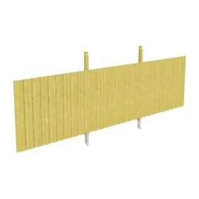 Skan Holz Rückwand für Leimholz Doppel- Carports - Deckelschalung