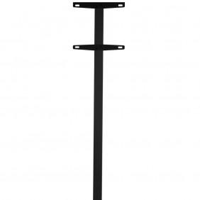 ALLUX Rohr-Ständer 1003 für Briefkasten - Schwarz