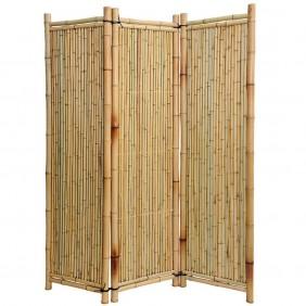 Noor Bambus-Paravent Deluxe 180 x 180 3-teilig