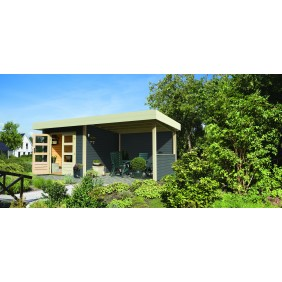 Karibu Classic Gartenhaus Multi Cube 1/2/3/4 - 28 mm