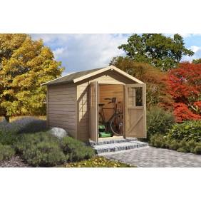 Karibu Eco Gartenhaus Coborg - 28 mm