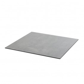 Diamond Garden DiGa Compact Tischplatte 68cm Eckig mit 20° Fase Beton Dunkel