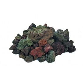 Gardenforma Lavasteine rötlich für Gas-Feuerstelle, 3kg