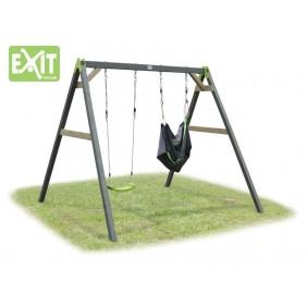 EXIT Aksent Doppelschaukel mit Swingbag schwarzgrün