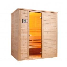 Infraworld Sauna Vitalis 184 - 40 mm Massivholzsauna