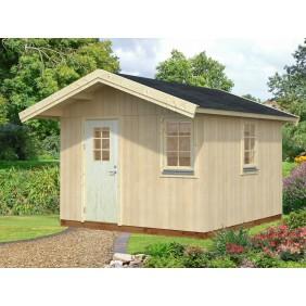 Palmako Nordic-Haus Hedwig 10,2 m² - 18+70 mm - naturbelassen - outdoor
