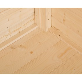 Weka Fußboden für Gartenhaus 209