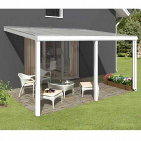 Skan Holz Terrassenüberdachungen zum Wandanbau