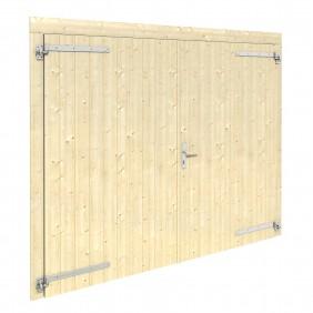 Palmako Holztor für Garage 225 x 188 cm - 70 mm