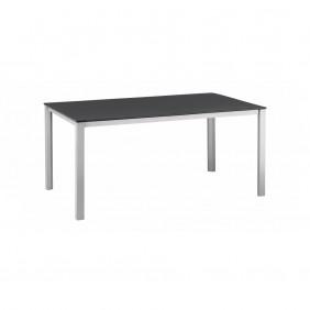 Kettler Kettalux Plus Dining-Tisch 160 x 95 cm silber/anthrazit