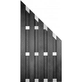 T&J DALIAN WPC Sichtschutzzaun 90x180/90