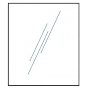 T&J VETRO GLAS-Sichtschutz 1200x1200 mm