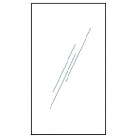 T&J VETRO Glas-Sichtschutz Uni Typ Rechteck 180